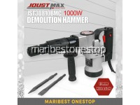 Joustmax JST30810BMC 1000W 17mm Hexagon Demolition Hammer with Accessories