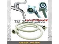 1.5M/2.5M/3M/4M/5M Washing Machine Inlet Hose Washer Pipe Connector