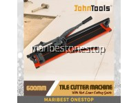 Johntools 8600-1L Tile Cutter 600MM Heavy Duty Single Rail Tile Mozaic Cutting Machine With Laser Guide