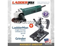 COMBO SET Ladderman GWS 8100-CE Angle Grinder with Angle Grinder Stand