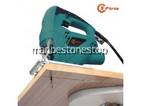 X-FORCE 380W Electric Jigsaw 45 Degree Adjustable Wood and Metal Cutting Machine Jig Saw with Free 2 Set Jigsaw Blades
