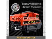 FOX FX-889 1300W High Pressure Water Jet Cleaner Car Wash Sprayer Washer with Accessories