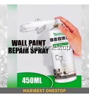 450ML Wall Painting Repair Spray White Refurbishment Spray Wall Surface Paint Wall Cleaning Artifact Grafitti Spray