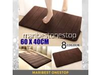 60X40CM Floor Mat Door Mat Bathroom Toilet Kitchen Bedroom Mat Carpet Thick Mat