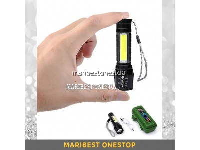 3 Mode USB Rechargeable High Power Mini LED W513 Torchlight OR Solar Led Wall Light