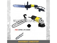 PACKAGE STANLEY ANGLE GRINDER CHAINSAW -2C