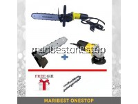 COMBO SET CHAINSAW (2 CHAIN) & STANLEY ANGLE GRINDER