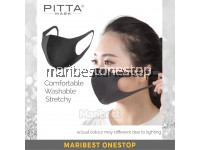 3 PCS PITTA FACE MASK ADULT KIDS JAPANESE TRENDS WASHABLE FACE MASK ANTI-ALLERGEN DUST