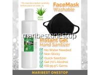 Cotton Facemask Or 500ml Hand Sanitizer Only Washable Mask Antibacterial 70% Alcohol