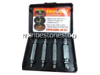 NEW 4PC SET EASY OUT DAMAGED SCREW EXTRACTOR DRILL BIT TOOL BROKEN DAMAGED BOLT