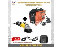 COMBO SET INVERTER WELDING MB-205 WITH STANLEY 5100