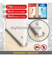 [Variable Colour] 95CM High Quality Flexible Door Bottom Sealing Twin Draft Dodger Guard Door Stopper