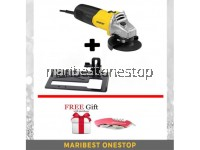 COMBO STGT5100 STANLEY ANGLE GRINDER WITH STAND FOC POCKET KNIFE