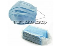 50PCS - 3 PLY NON-WOVEN DISPOSABLE FACE MASK