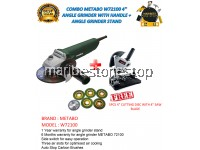 COMBO METABO W 72100 720W 100MM 4