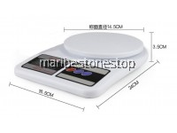 SF-400 Digital Scale Electronic Kitchen Scale With 2pcs AAA Batery