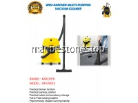 WD3 KARCHER MULTI-PURPOSE VACUUM CLEANER