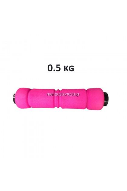 [Random Colour] 1KG / 1.5KG / 2KG Neoprene Ladies Gym Fitness Dumbbells (Pair)