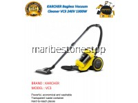 KARCHER Bagless Vacuum Cleaner VC3 240V 1300W 1.5m