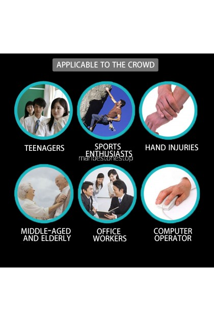 Fitness Gym Hand Grippers Wrist Arm Strength Sponge Handle 2pcs/set (SC-82115)