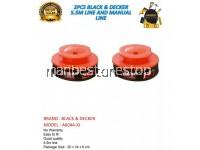 2PCS A6044-XJ BLACK & DECKER 5.5M LINE & MANUAL LINE