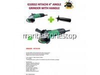 "HITACHI G10SS2 4"" ANGLE GRINDER WITH HANDLE"