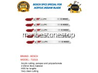 T101A BOSCH 5PCS SPECIAL FOR ACRYLIC JIGSAW BLADE
