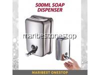 500ML 304 STAINLESS STEEL SOAP DISPENSER