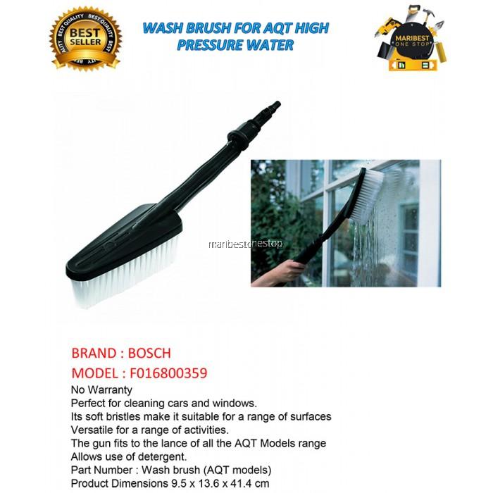 Bosch F016800359 Wash Brush For Aqt High Pressure Washer
