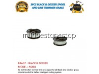 2PCS A6481 Black & Decker Spool & Line - GL4525 TRIMMER GRASS , HIGH QUALITY