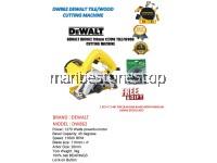 DW862 110MM DEWALT TILE/WOOD CUTTING MACHINE 1270W