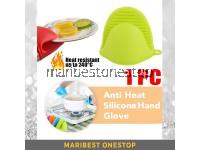 1PC Kitchen Silicone Anti-Heat Hand Glove Heat Resistant Hand Glove RANDOM COLOUR