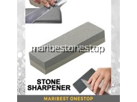 Stone Sharpening Stone Sharpener Whetstone Wet Stone Double-Sided Grit Blade Razor Knife Sharpener