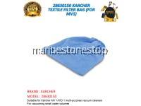 28630150 KARCHER TEXTILE FILTER BAG (FOR MV1)