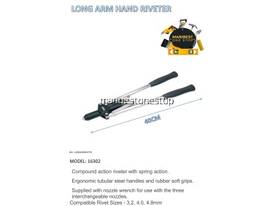 LONG ARM HAND RIVETER
