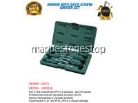 09303E 6PCS SATA SCREW DRIVER SET