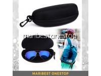 Eyeglass Eyewear Spectacle Sunglass Case Zipper Casing Box Hard Case Hanging Travel Pouch
