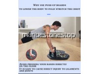 ST014 27 IN 1 PUSH UP RACK BOARD PUSH UP STANDS MUSCLE TRAINING FITTNESS EQUIPMENT WITH RESISTANCE BAND