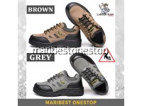 LADDERMAN STEEL TOE SAFETY SHOES SAFETY BOOTS WORK SHOES ANTI-SLIP KASUT SAFETY JENIS SPORT FOR MEN