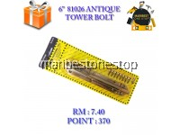 6'' 81026 ANTIQUE TOWER BOLT