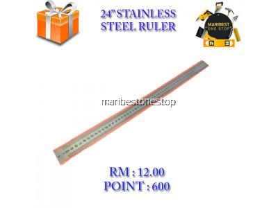 24'' STAINLESS STEEL RULER