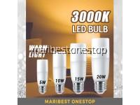 [ 5W 10W 15W 20W ] LED Bulb 3000K Warm Lighting Effect LED Light Bulb Corn Bulb Stick Bulb Mentol Bulb E27 90% Energy Saving