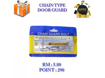 CHAIN TYPE DOOR GUARD