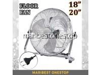 18INCH / 20INCH FLOOR FAN HOUSEHOLD POWERFUL ELECTRIC INDUSTRIAL FLOOR FAN KIPAS LANTAI