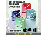 199 SMART POWER BANK 10000mAh / 20000mAh FAST CHARGE DUAL USB 2A OUTPUT LI-ION POLYMER BATTERY LCD DIGITAL DISPLAY