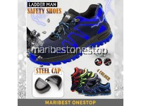 LDM Steel Toe Cap Midsole Low Cut Safety Boots Anti-Slip Breathable Mesh Work Shoes Puncture Proof Safety Shoes