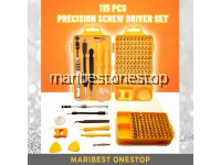 115 PCS PRECISION SCREW DRIVER SET HAND TOOLS SET FOR REPAIR WATCH MOBILE PHONE SMALL ELECTRONIC TOOLS