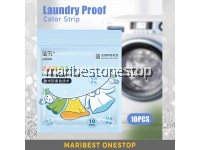 10-PCS Laundry Proof Color Strip Absorbent Paper Absorb Color Film Sheet Prevent Cross-color Dying Color Protection