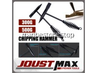300G / 500G WELDING CHIPPING HAMMER WITH SPRING HANDLE WELDING SLAG HAMMER WELDING CLEANING TOOL
