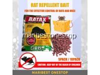 5PACK / 10PACK RAT REPELLENT INSECT REPELLENT BAIT RAT POISON PEST CONTROL EXTERMINATE RATS AND MICE